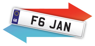 private plate registration transfers